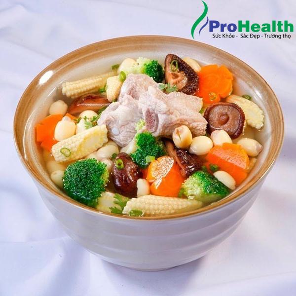 Các món ăn ngon được làm từ cây sâm tươi Prosam. (P.3)